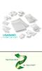 Polyurethan-Schaumverband-System von LIGAMED®  zur Wundbehandlung und Prävention